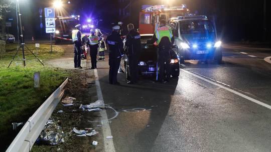 82-jähriger Fußgänger stirbt bei Unfall