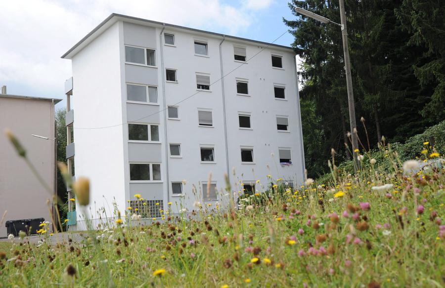 18 obdachlose wohnen jetzt in der fischbachstra e. Black Bedroom Furniture Sets. Home Design Ideas