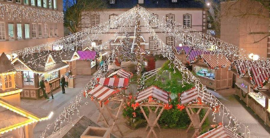 Wo Ist Weihnachtsmarkt Heute.Heute öffnet Der Weihnachtsmarkt Am Merziger Stadthaus