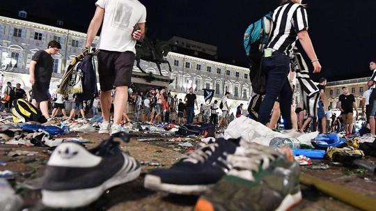Champions-League-Finale 1000 Verletzte nach Panik bei Public Viewing in Turin