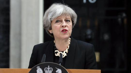 Anschlag in London: Theresa May sagt dem Islamisten den Kampf an