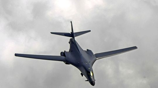 US-Kampfflugzeuge über koreanischer Halbinsel