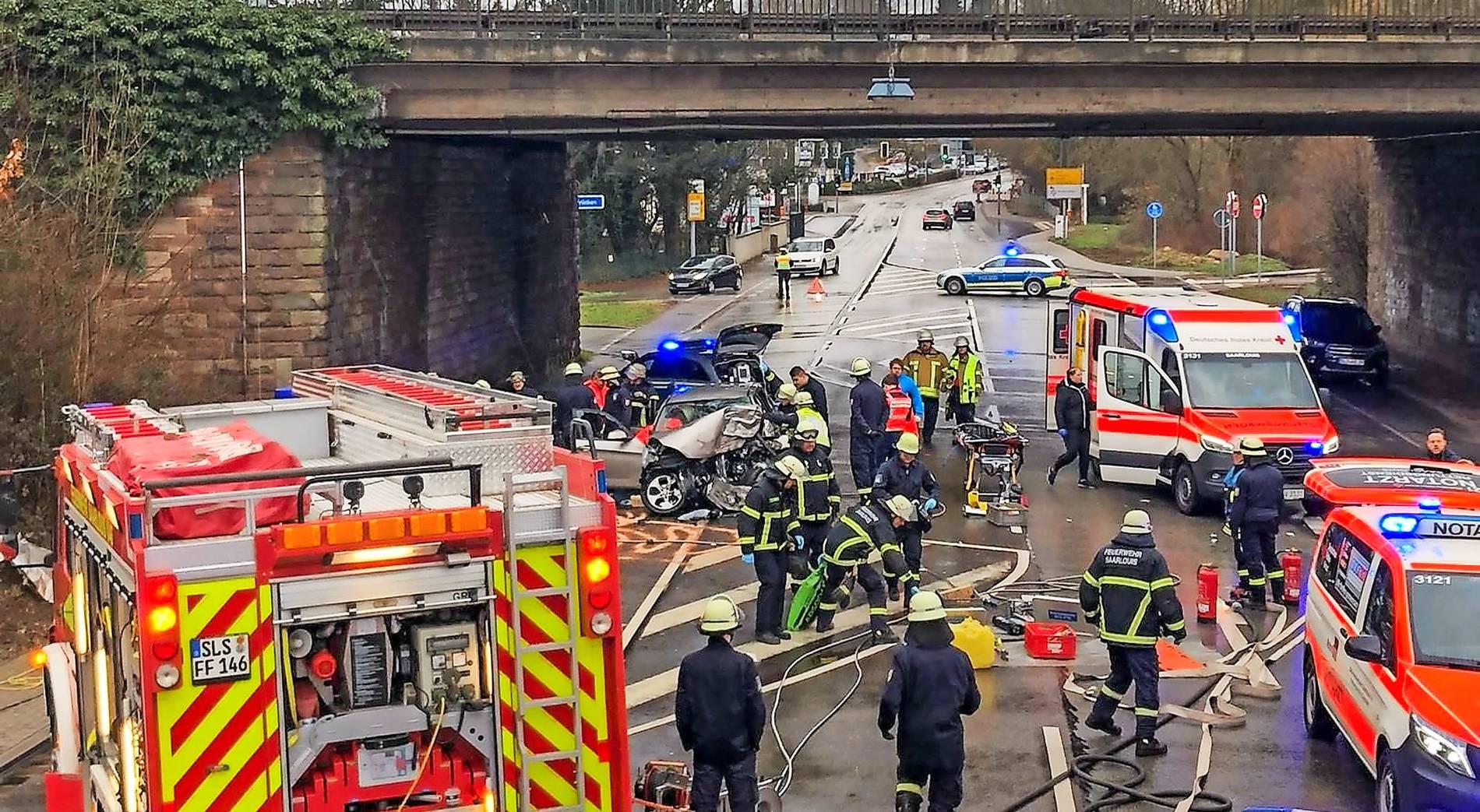 Unfall Saarland