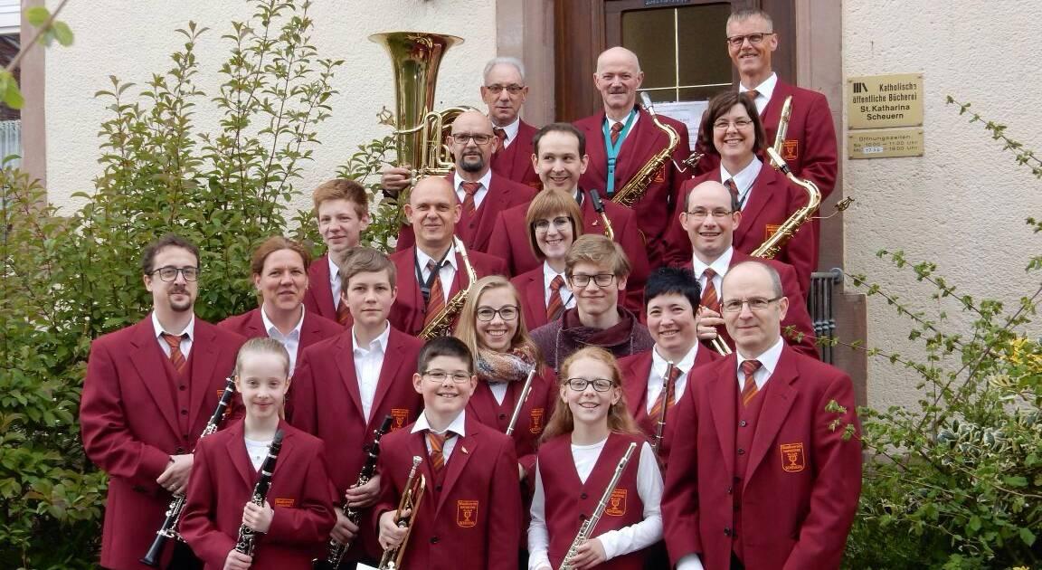 Scheuerner Musiker treten auf
