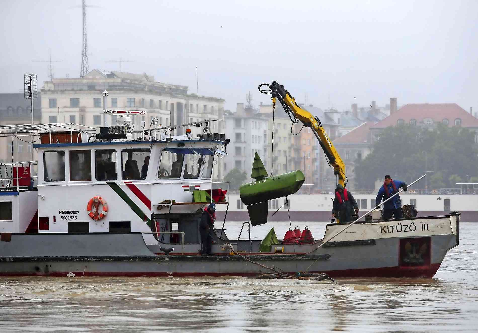 Tote In Donau