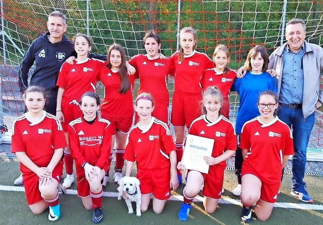 Fussball D Juniorinnen Sv Bardenbach Zum Dritten Mal In