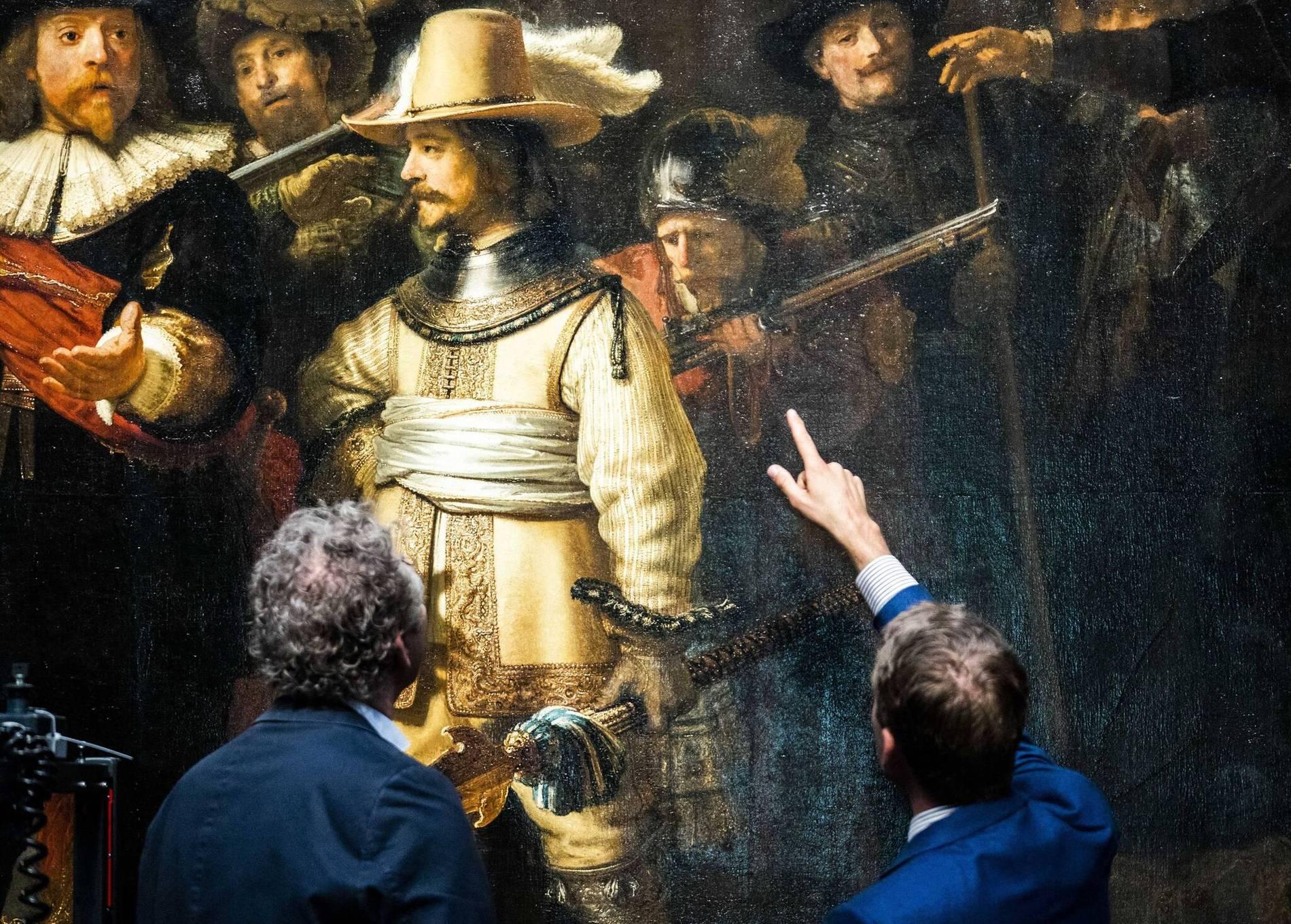 Die Nachtwache Von Rembrandt Wird Restauriert