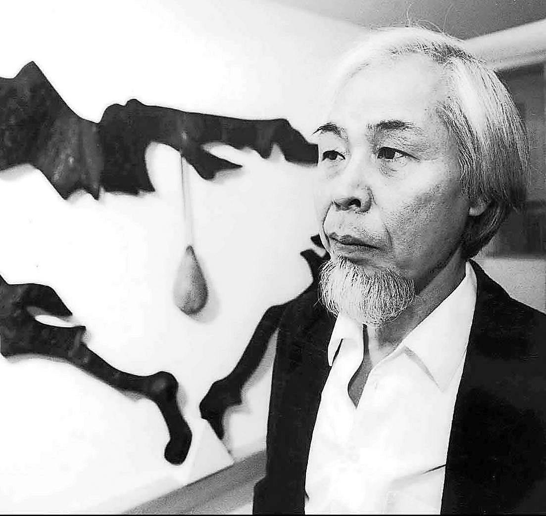 Retrospektive Verwurzelt In Der Traditionellen Japanischen Kunst