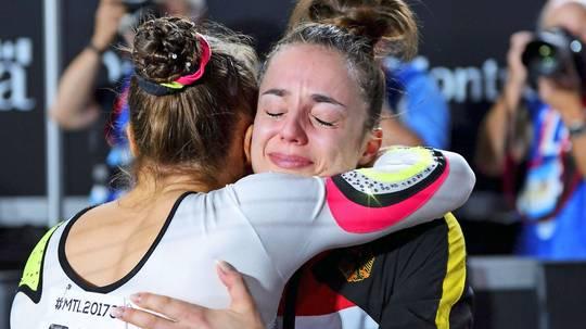 Pauline Schäfer erreicht historische Goldmedaille