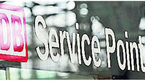 Bahn Spricht Weniger Englisch Aber Der Service Point Bleibt