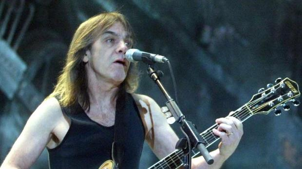 AC/DC-Gitarrist Malcolm Young
