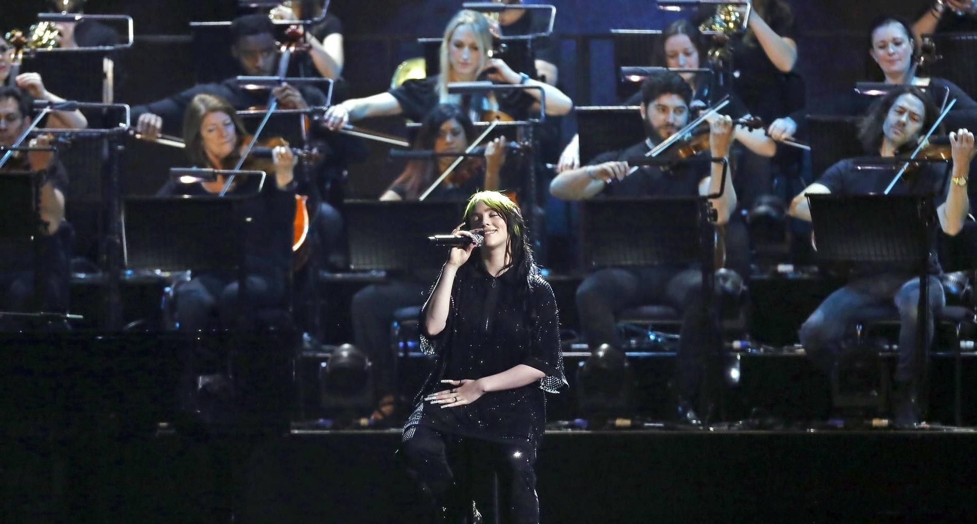 Musikpreisverleihung: Billie Eilish, Stormzy und Lewis Capaldi räumen bei Brit Awards ab