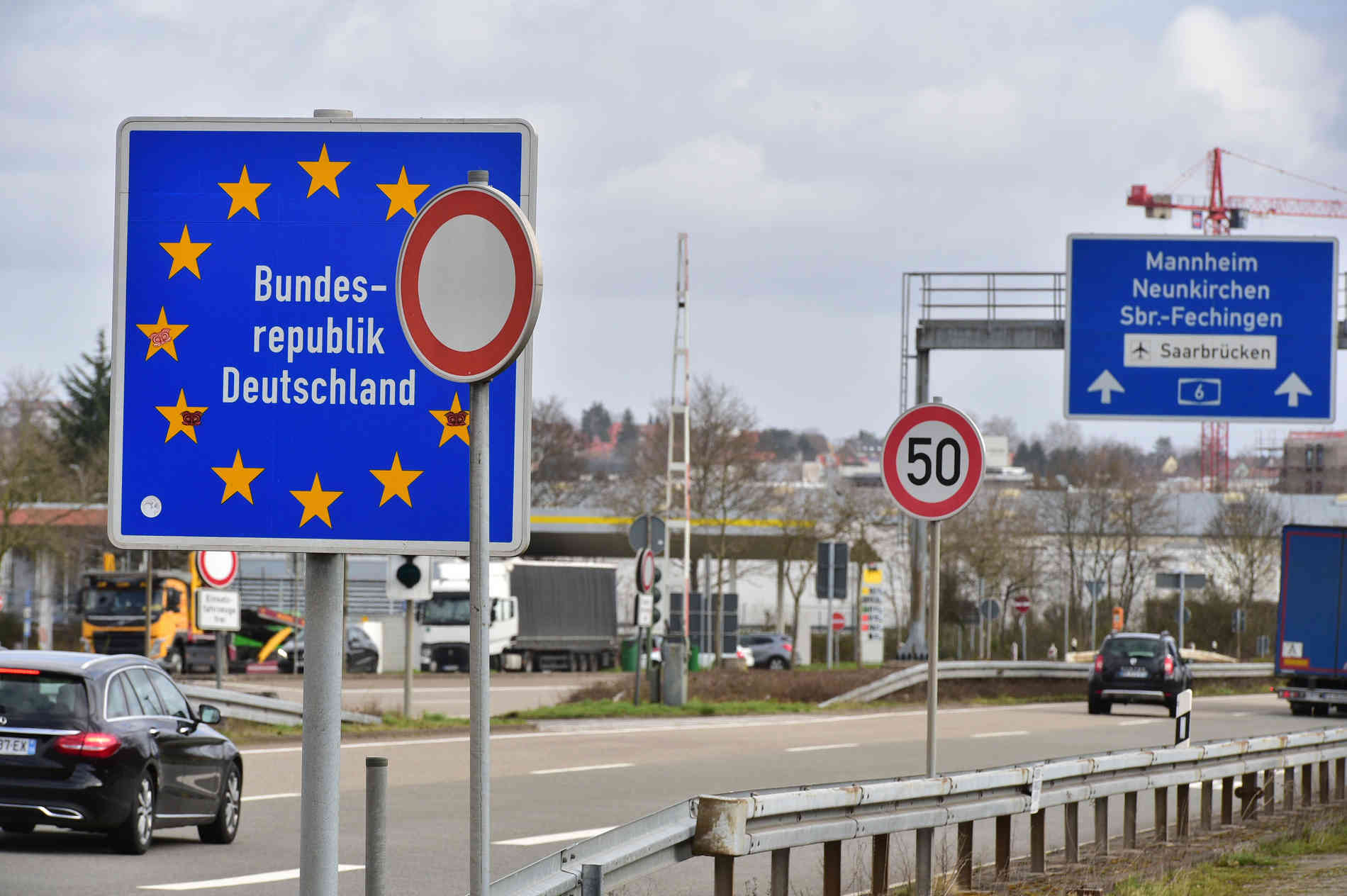 Grenze Frankreich Deutschland Corona