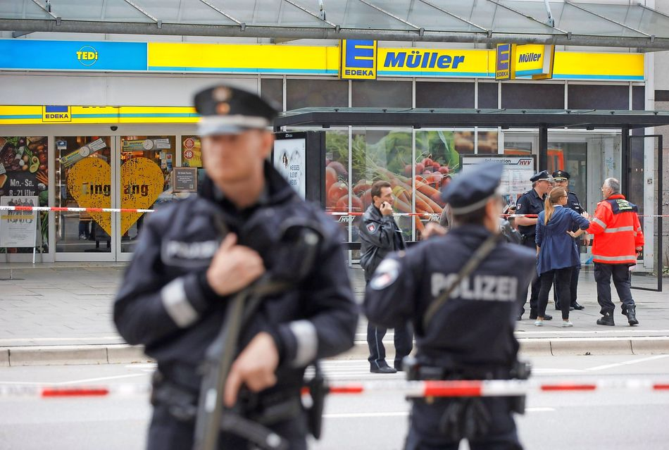 Ahmad A. gesteht Messerattacke in Hamburger Supermarkt
