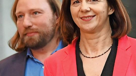 Grüne: Katrin Göring-Eckardt und Anton Hofreiter als Fraktionschefs bestätigt