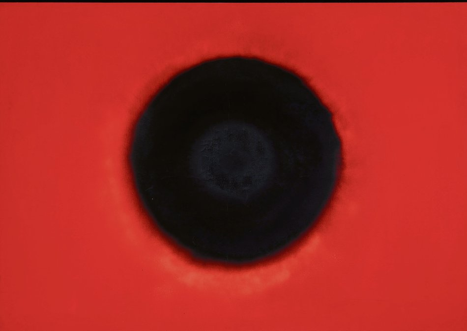 Otto Piene Black Sun 1964