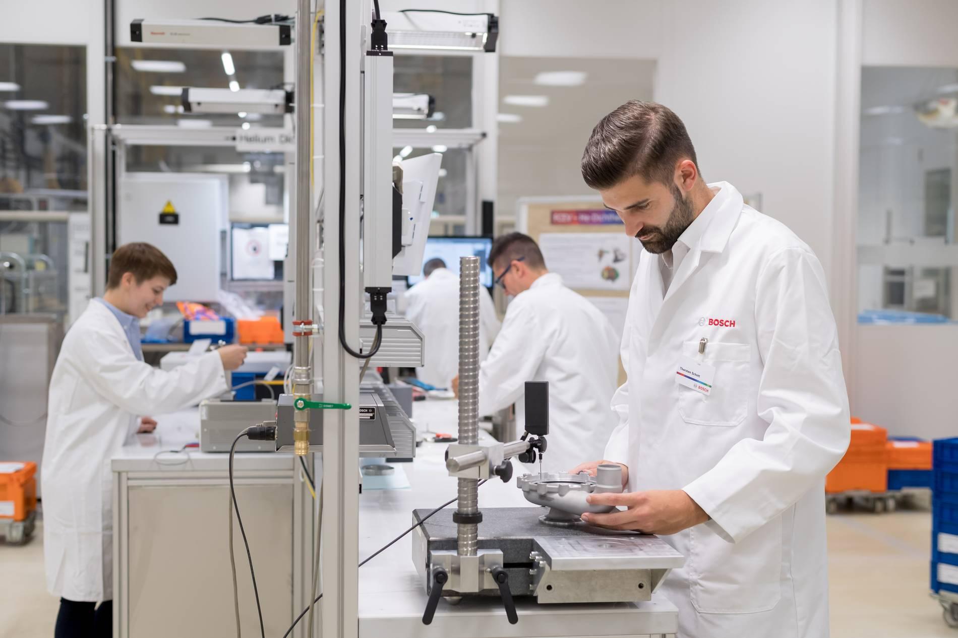 Bosch: 50 Millionen Euro in die Entwicklung und Fertigung von Brennstoffzellen in Homburg
