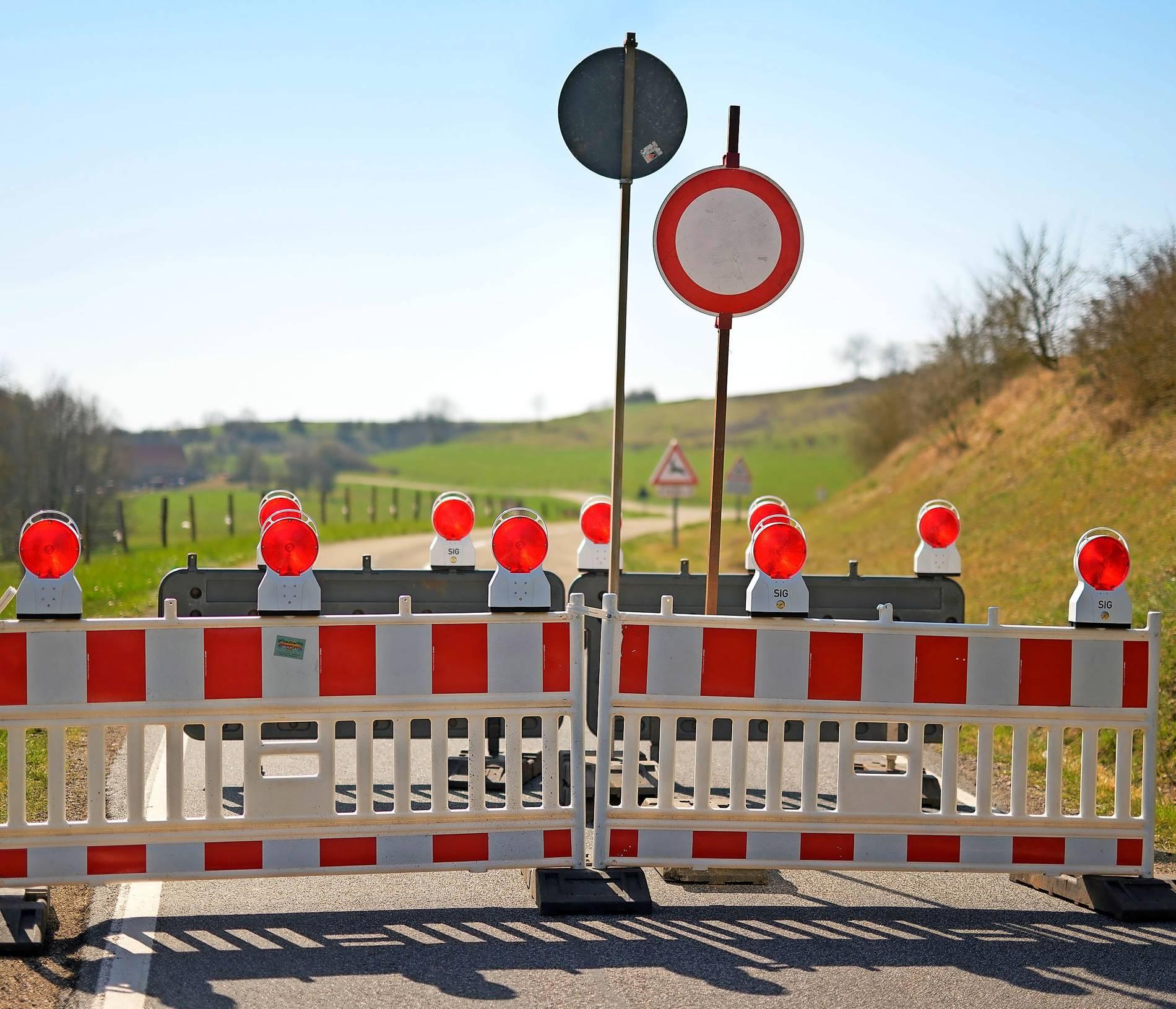 Grenze Frankreich Offen