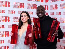 Brit Awards - Dua Lipa + Stormzy