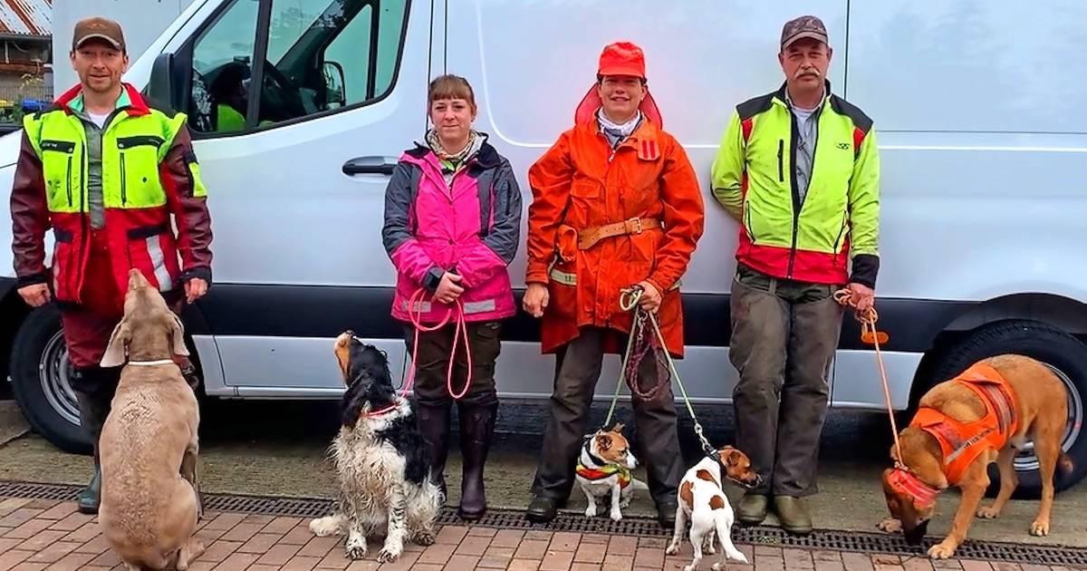 """Dienstreise für Kadaversuchhunde: Dienstreise zur Spree wird zum """"Knochenjob"""""""